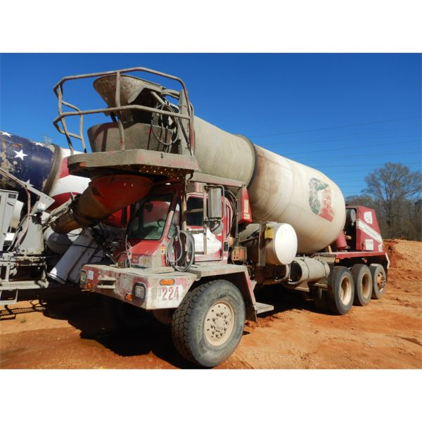 2004 OSHKOSH S SERIES Concrete Mixer / Pump Truck