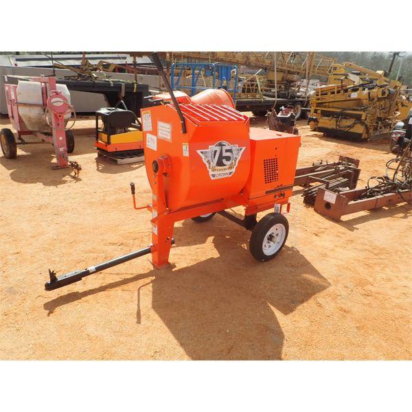 (Unused) Crown 8S mortar mixer, gas engine