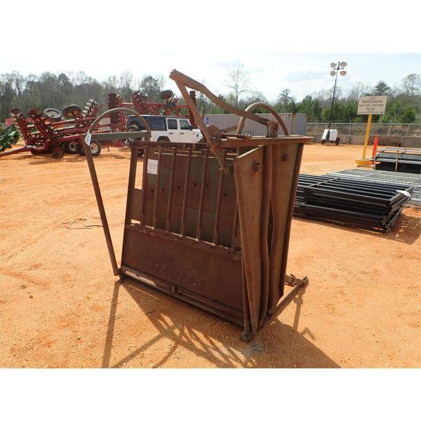 Livestock catch gate