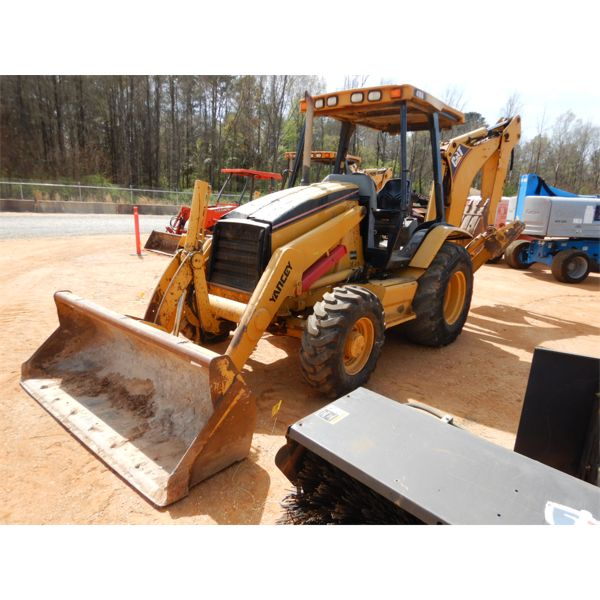 2005 CAT 416D Backhoe