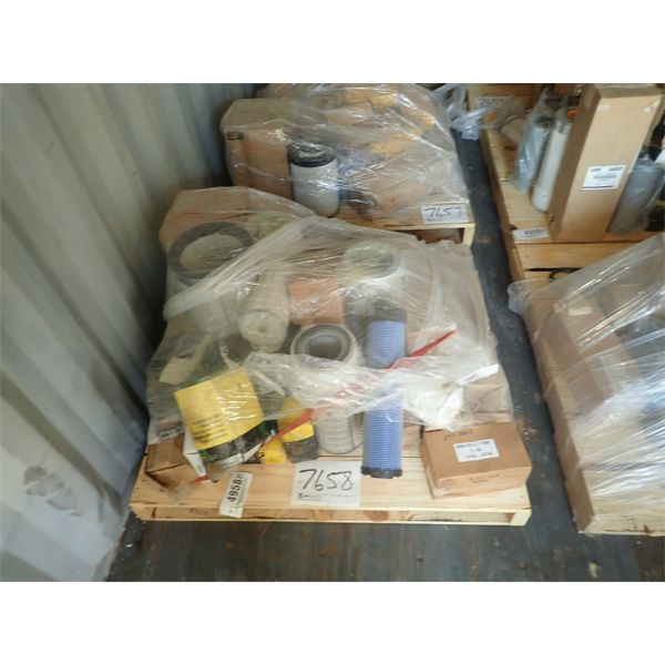1 pallet misc filters (in container)