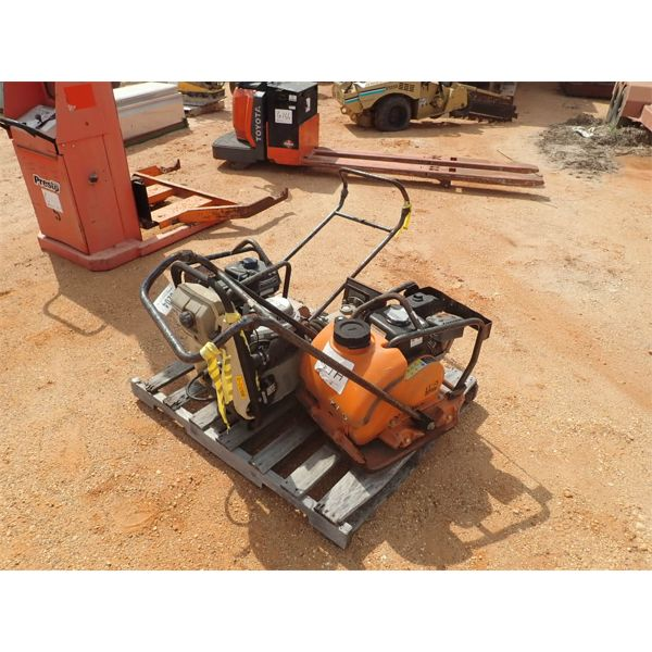 (3) trench tamp, gas engine