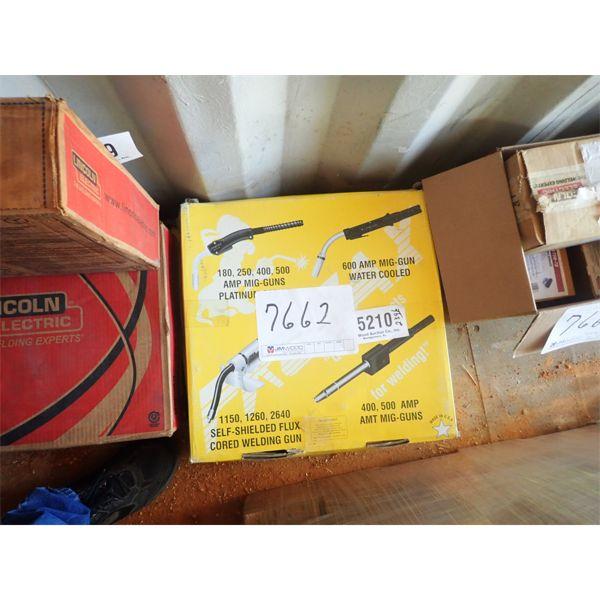 (2) platinum choice 400 wire welder gun