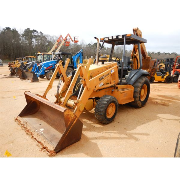 2000 CASE 580 SUPER L SERIES 2 Backhoe