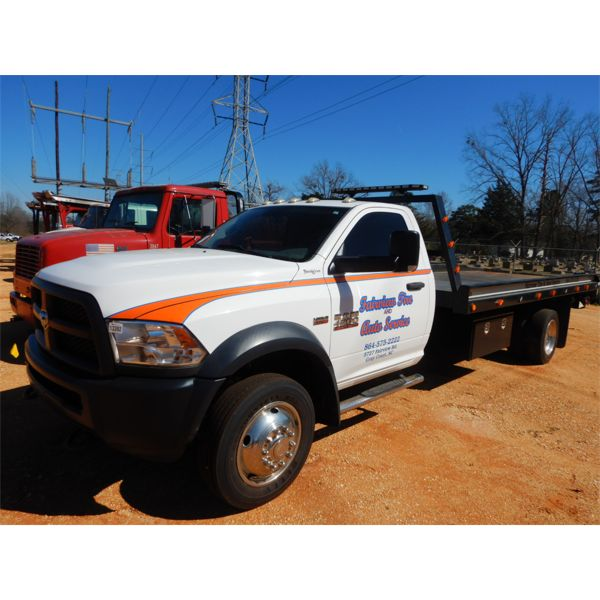 2015 RAM 4500 HD Rollback Truck