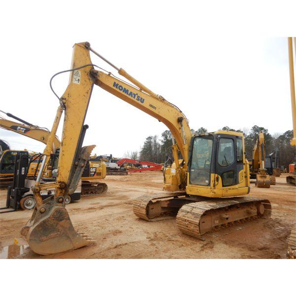 2009 KOMATSU PC138USLC-8 Excavator