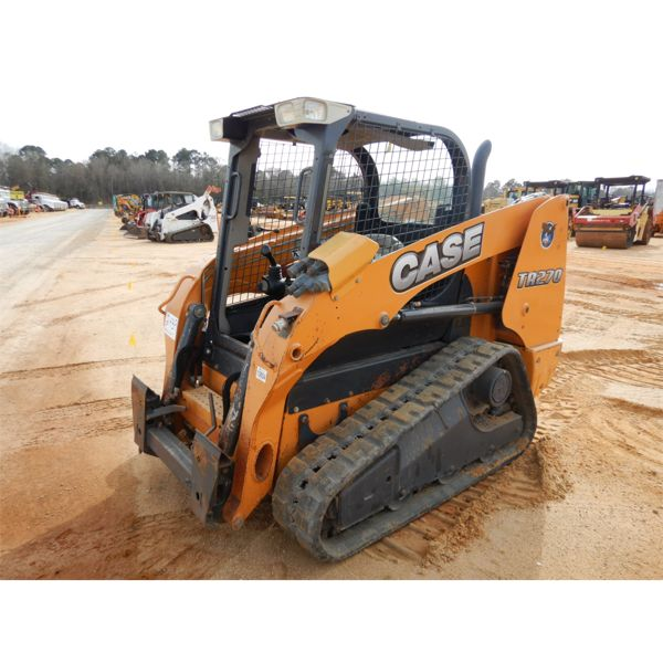 2017 CASE TR270 Skid Steer Loader - Crawler