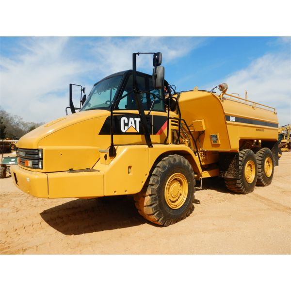2008 CAT 725 Water Wagon