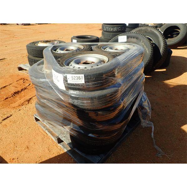 (23) 155/80R13 tires & rims