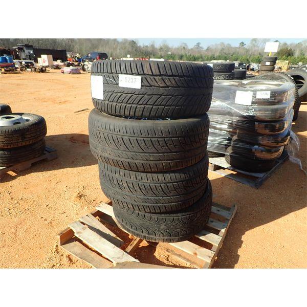 (4) 305/35R24 tires & chrome rims