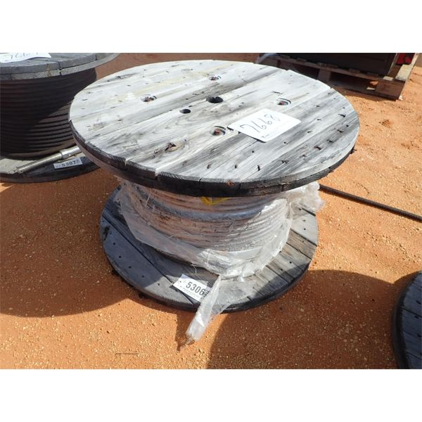 (1) reel steel cable
