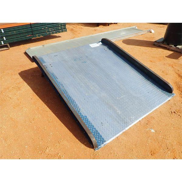 Aluminum deck plate