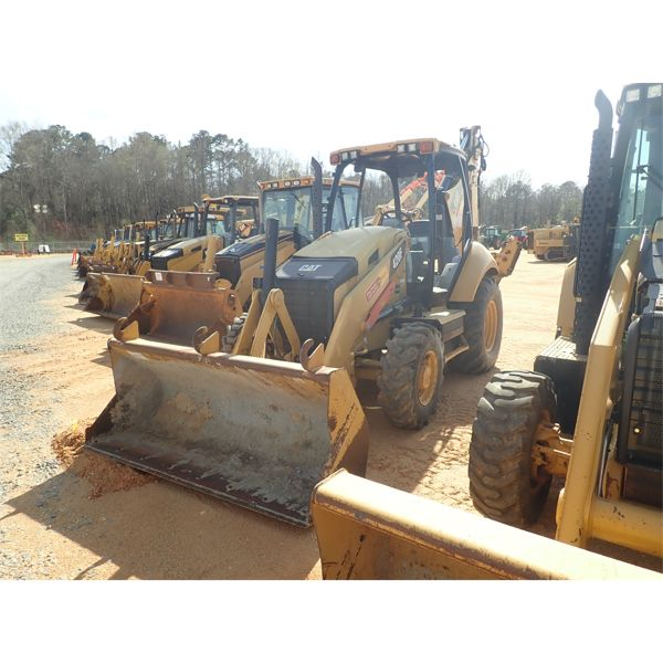 2012 CAT 420F Backhoe