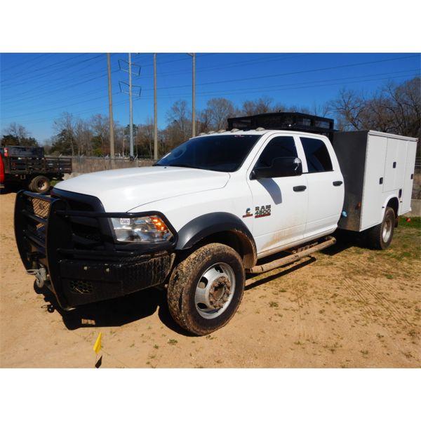 2015 RAM 4500 HD Service / Mechanic Truck