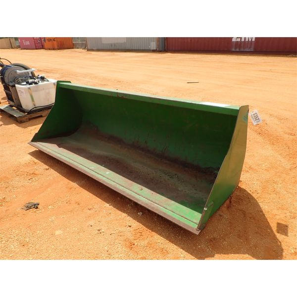 """Bucket Attachment 85"""", fits front end loader"""