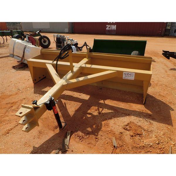 8' box b;ade, bumper pull w/hydraulics