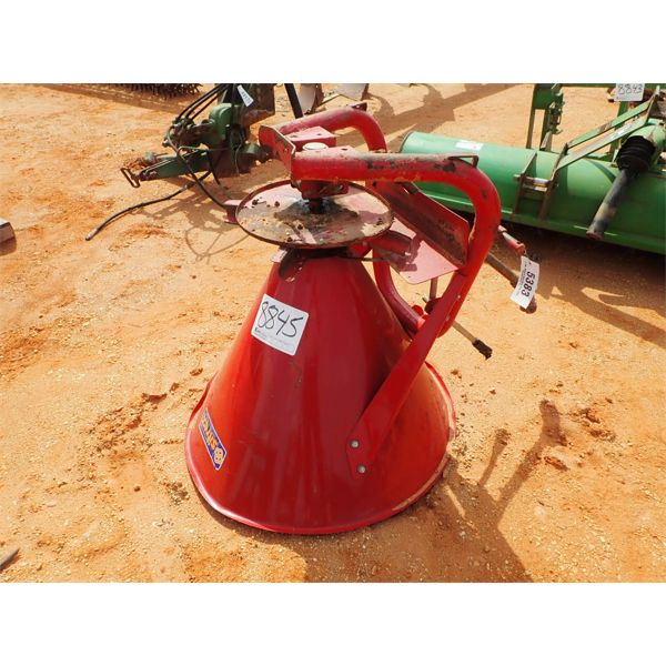 Seed/fertilizer spreader, 3 PTH, PTO driven