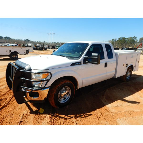 2015 FORD F250 Service / Mechanic Truck