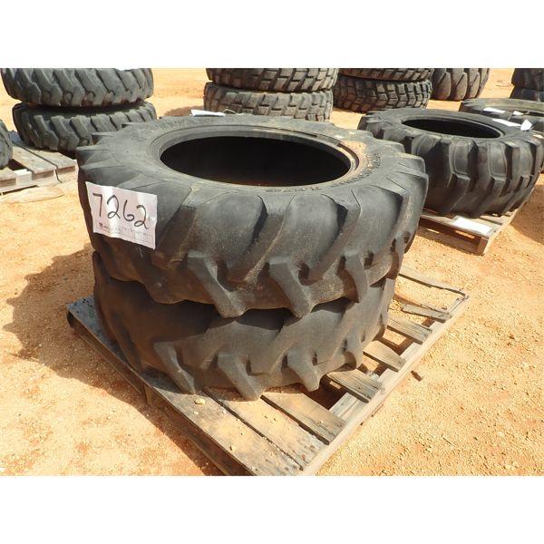 (2) 12.4 x 24 tires