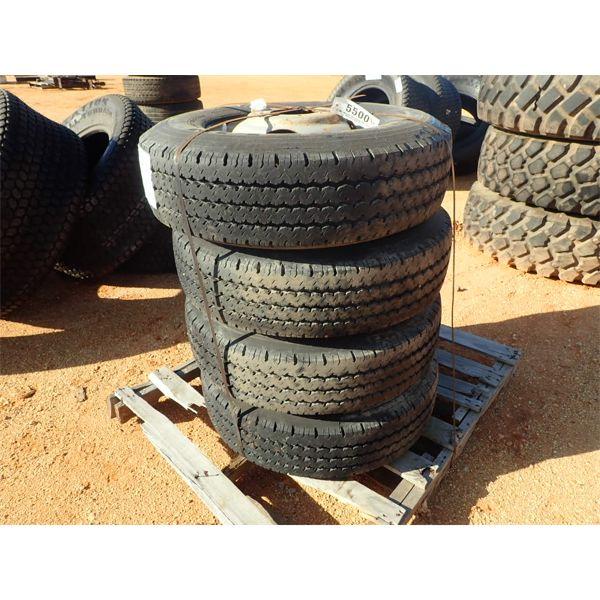 Michelin 235/85R16 tires w/rims