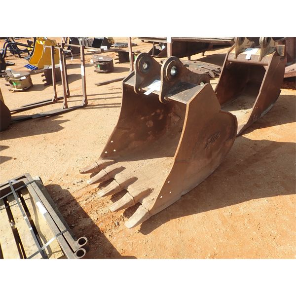 "40"" bucket w/teeth, for excavator"