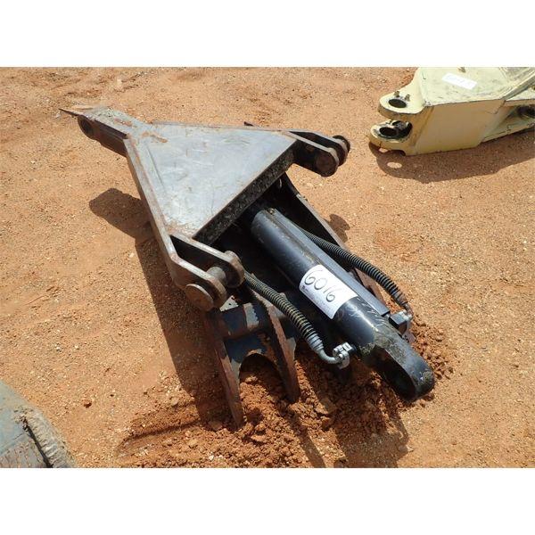 hyd thumb, fits excavator