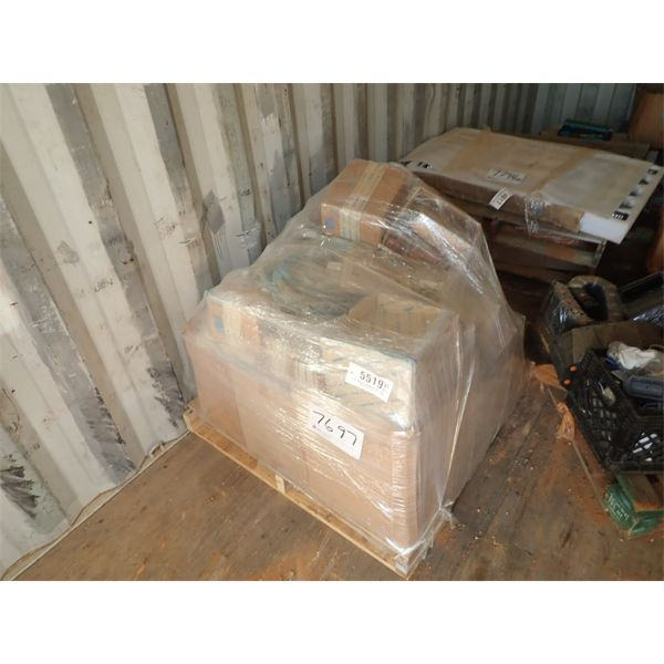 (1) pallet misc filters