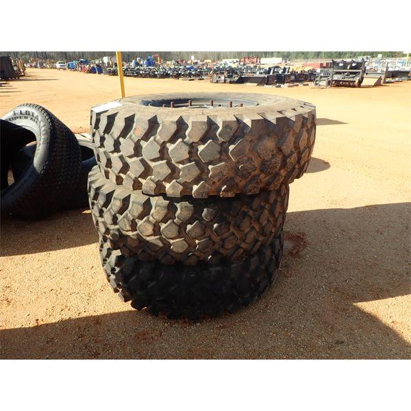 (3) Michelin 14.00R20 tires w/rim