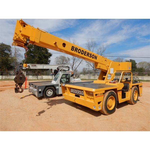 BRODERSON IC-200 Yard / Carry Deck Crane