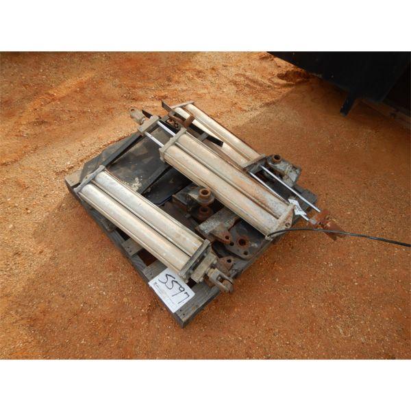 1 pallet misc cylinders & parts