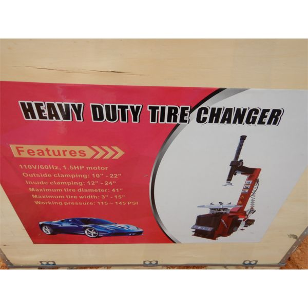 heavy duty tire changer