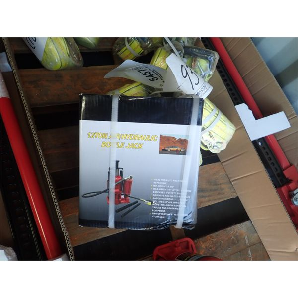 12 ton air/hyd jack (in container)