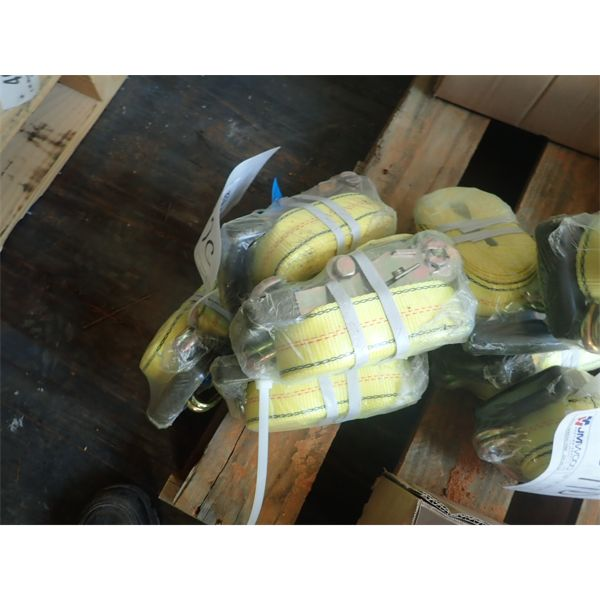 """(4)  2"""" X 20' tie down strap (in container)"""