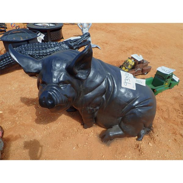 (1) aluminum hog