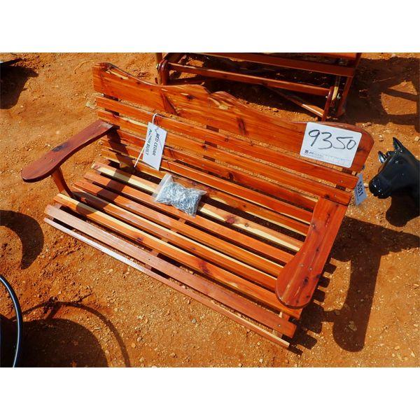 cedar swing w/chains