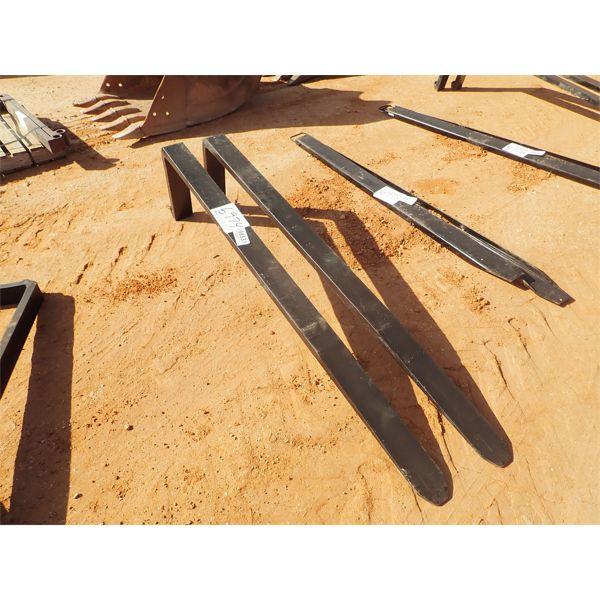 7' blades , fits forklift