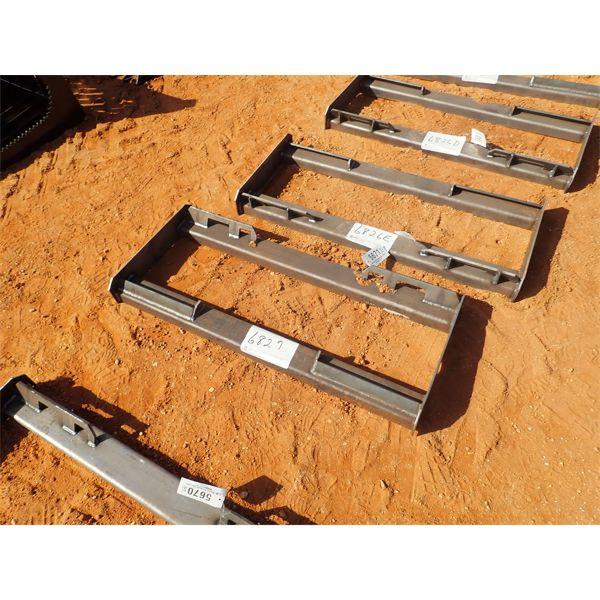 Mount frame, fits skid steer loader