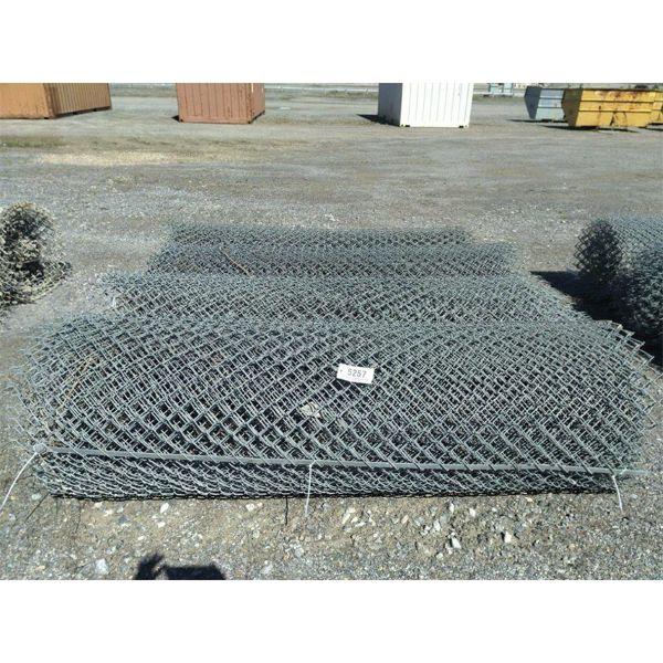 ROLLS OF CHAIN LINK FENCE