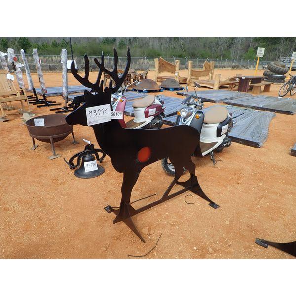 Metal deer target