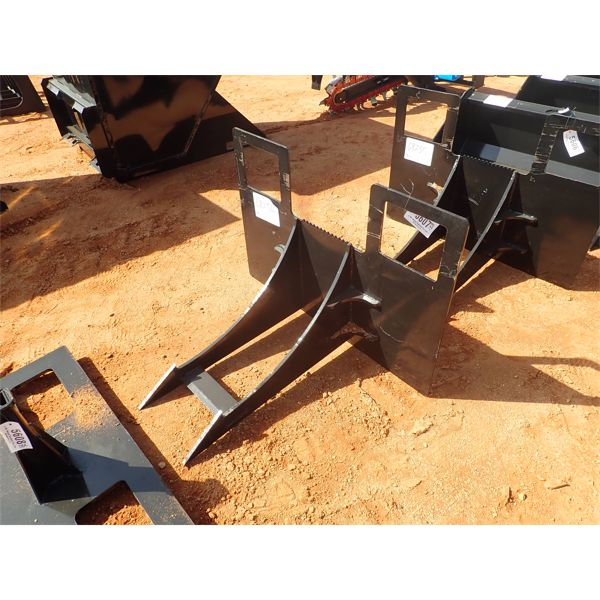 Stump bucket, fits skid steer loader