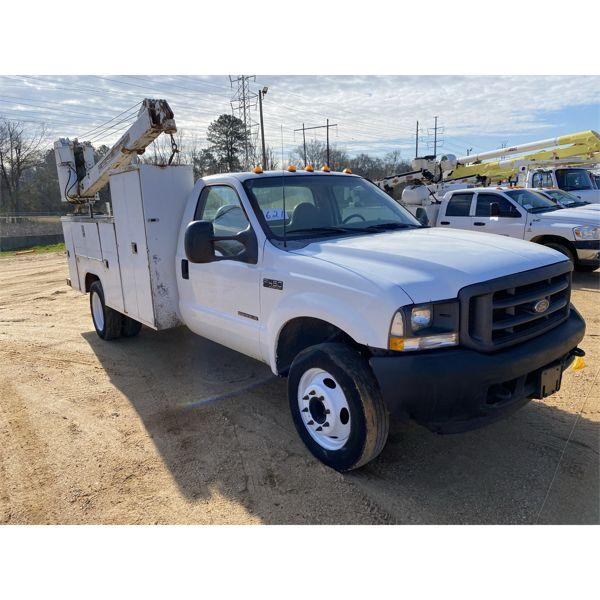 2002 FORD F450 Service / Mechanic Truck