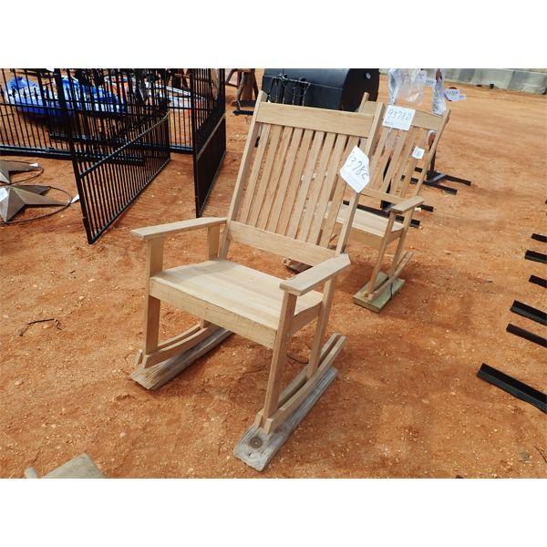 jumbo oak rocking chair