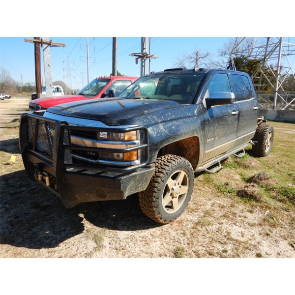 2016 CHEVROLET 2500 HD Cab and Chassis Truck