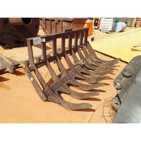 8' stacking rake