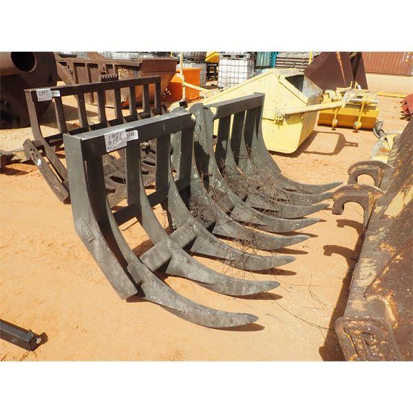 8' Felco stacking rake