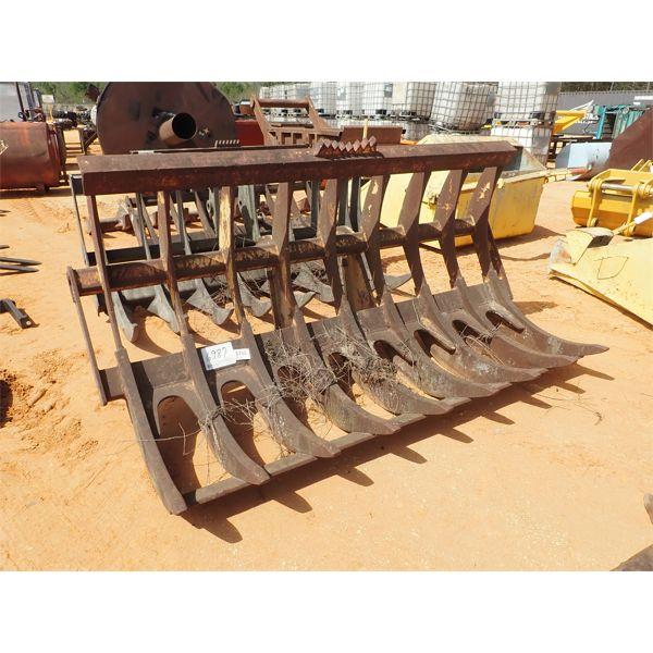 9' stacking rake