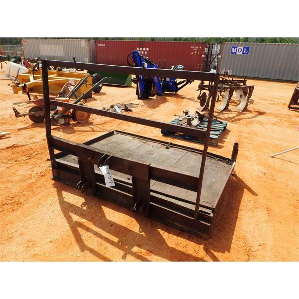 4' x 6' farm platform, 3 PTH