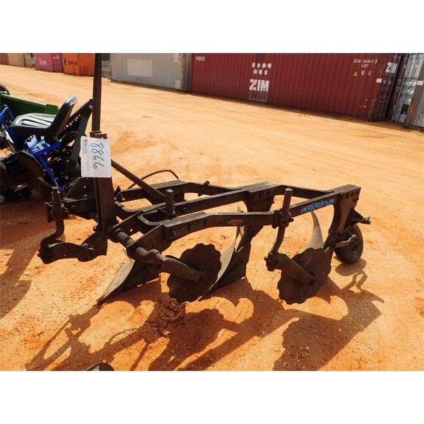 3 row bottom plow