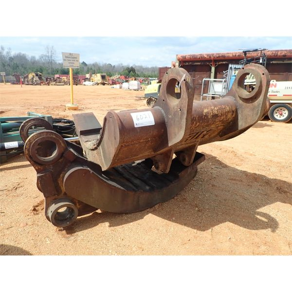 A.I.M. clam shell grapple, fits hyd excavator