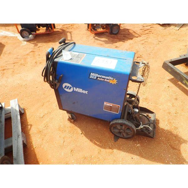 MILLER MATIC 212 auto set wire welder